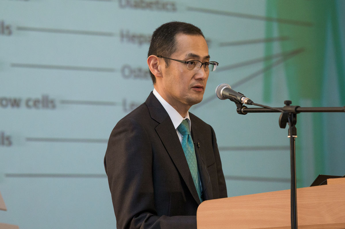 Nobel laureate Shinya Yamanaka gave a lecture at the St. Petersburg Polytechnic University