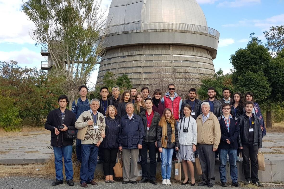 Политехники приняли участие в Международной школе-конференции по астрофизике