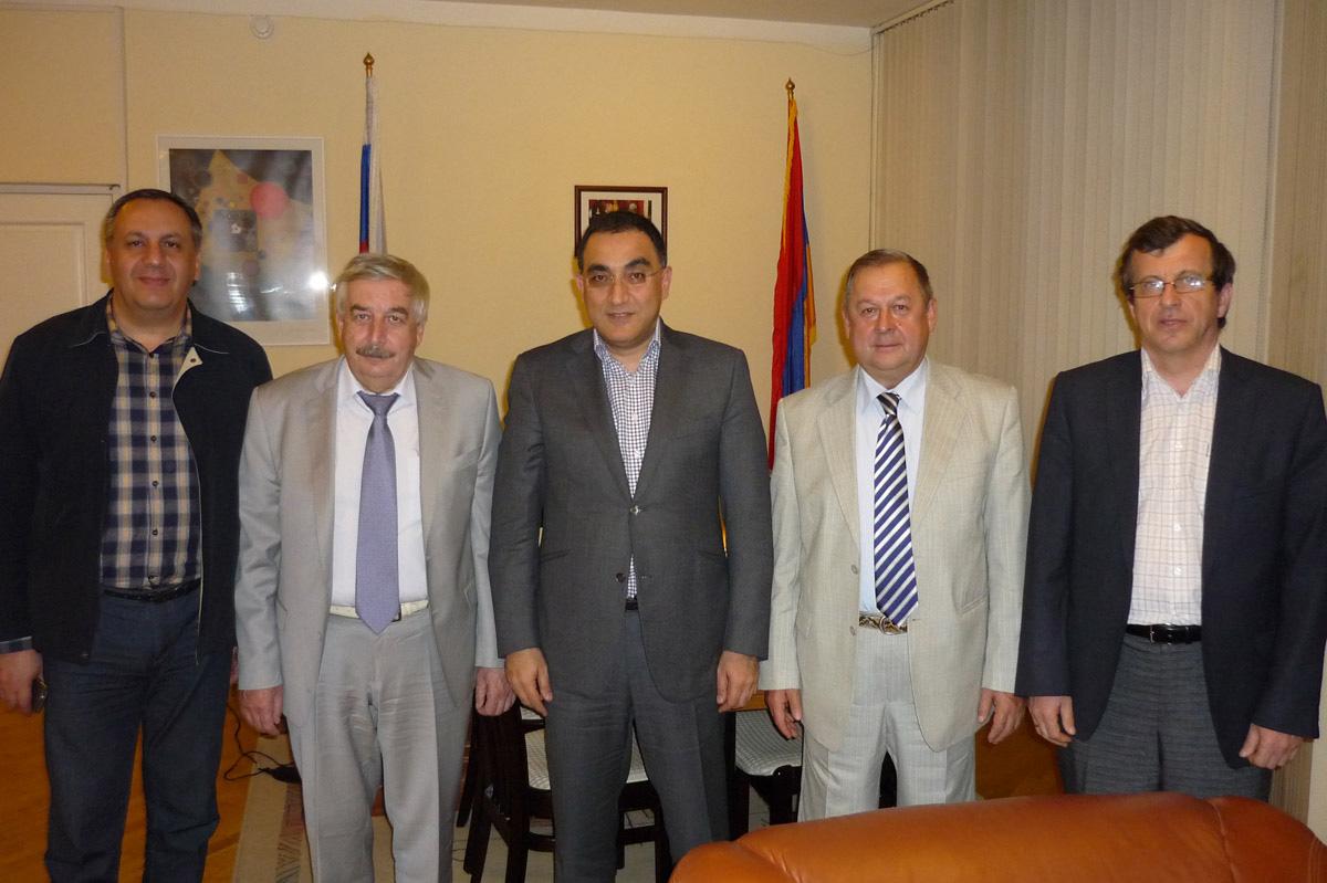 СПбПУ и Российско-Армянский (Славянский) университет углубляют сотрудничество