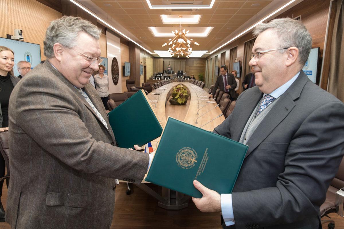 Мадридский политехнический университет и СПбПУ – стратегические партнеры