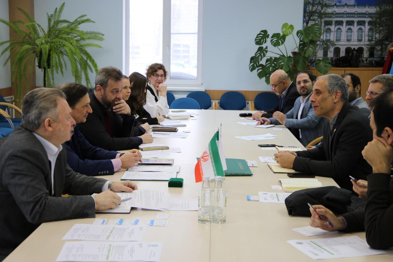 Новые шаги в развитии отношений СПбПУ и Технологического университета Шарифа