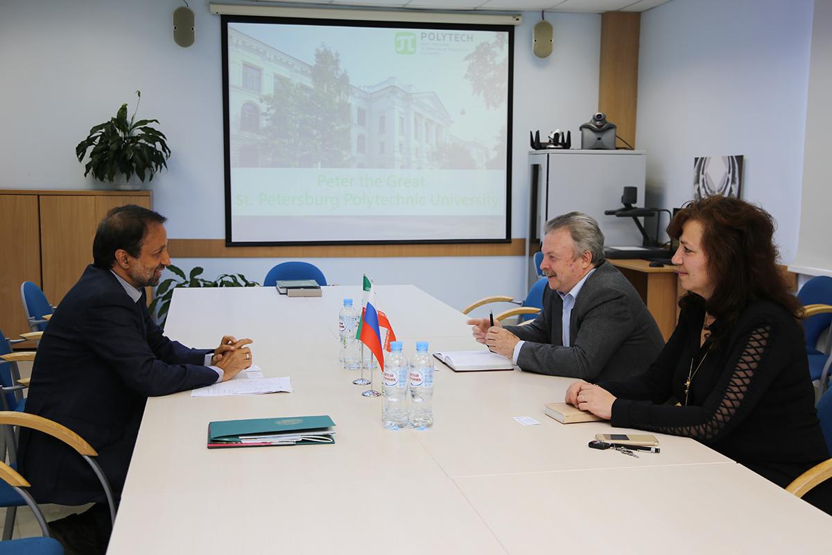 Направления сотрудничества СПбПУ и Технологического университета Шарифа